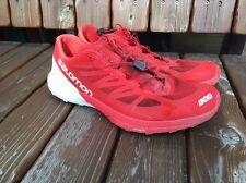 Salomon S-LAB Sense 6 Trail Shoes Used Size 10 Red