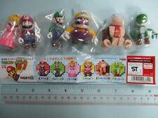 Yujin Nintendo Super Mario Kubrick Gashapon Figure Yoshi Wario Luigi Peach