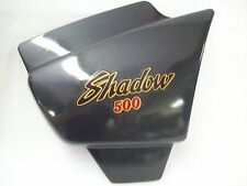 Orig. Seitendeckel rechts / Cover right Honda VT 500C  Shadow  PC08    schwarz