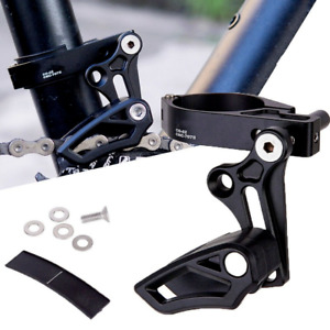 Mountain Bike Chain Guide Aluminum Alloy Chain Tensioner Bicycle Single-disc