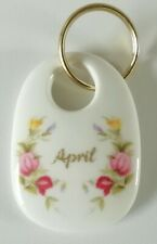 Royal Albert flor del mes de abril Llavero-Llavero en Caja-Calidad 1st