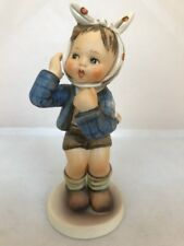"Hummel 217 Boy With Toothache 5 1/2"" Tall TMK5 ~ Boy With Bandage Around Face"