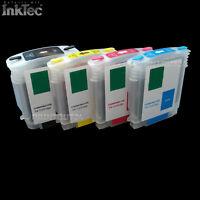 mini CISS InkTec Tinte refill ink 10 11 XL BK Y M C4844 C4837 C4838 C4839 für HP