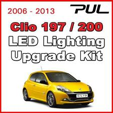 Renault Sport Clio 197 200 LED interior, side lighting kit SMD -  PURE WHITE