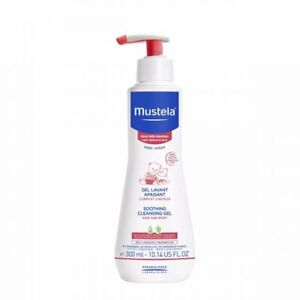 Mustela Baby Soothing Cleansing Body Gel for Very Sensitive Skin, Fragrance-Free