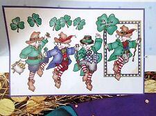 Daisy Kingdom No-Sew Fabric Applique It's Good To Be Irish St Patricks Day Craft