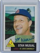 Stan Musial signed 2011 Topps The Lost Cards #1 Cardinals auto baseball card STM