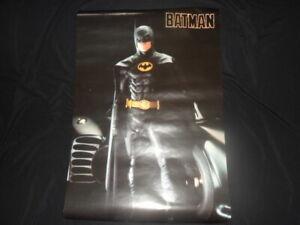 ORIGINAL VINTAGE 1989 BATMAN POSTER
