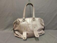 Auth JACQUES LE CORRE PinkBeige Leather Handbag