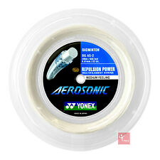Yonex Aerosonic Badminton 200m Reel -  White