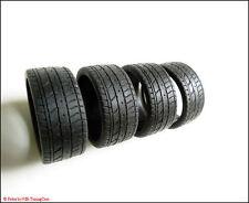 1:18 Tuning 1 x Satz / 4 x Tuning-Profil-Reifen / Niederquerschnitt 19-20 Zoll