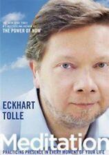Eckhart Tolle Meditation 0600835278737 DVD Region 2