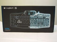 *☛ NEW IN BOX ☚* Logitech G19s Gaming Keyboard with Color Game Panel Screen