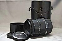 Minolta AF 100mm f2.8 Macro AF Lens w/case w/hood Alpha A Mount Sony Minolta