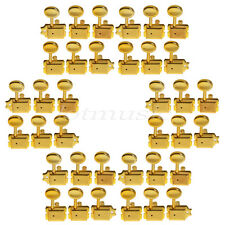 6 Sets 6R Guitar Vintage Tuning Pegs Tuners Keys For Fender Tele Strat Gold