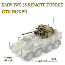 KMW's 35mm Remote Turret - resin - 1/72 scale