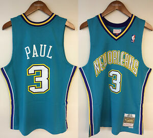Chris Paul New Orleans Hornets NOLA Mitchell & Ness NBA 2005-06 Authentic Jersey