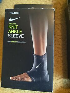 X2 Nike Knit Ankle Sleeve Support Size Small