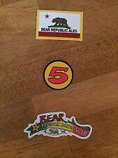 Beer Stickers Lot Of 3 Bear Republic Brewery Racer 5 NEW