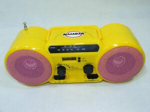 Radio Réveil MALABAR Chewing-gum Objet publicitaire PR728 TBE Collection RARE!