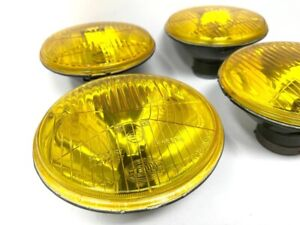 Converted Oem Hella Yellow Headlights For Bmw E9 E12 E21