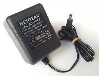NETGEAR AD-121AD AC/DC POWER SUPPLY ADAPTER 12V 1A UK PLUG PWR-10027-03