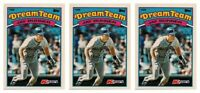 (3) 1989 Topps K-Mart Dream Team Baseball #5 Jay Buhner Lot Mariners
