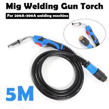 New listing 16.5' Mig Welding Gun Torch Stinger Parts Welder Gun Euro connector
