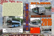3318. Beijing. China. Trolleybuses. BRT. Buses. May 2016. Many  locations covere