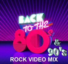 80's-90's Rock Music Videos Mix Dvd– Scorpions, Winger, Warrant & More-49 Hits