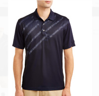 Ben Hogan Men's Performance Short Sleeve Printed Golf Polo Shirt Size S