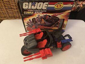 Vintage G.I. Joe Cobra Stun Vehicle, w box, Hasbro 1986