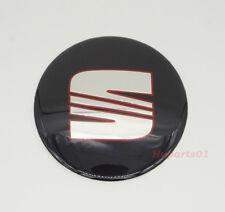 1Pcs 65mm Car Wheel Center Cap Emblem Covers Adhesive Sticker Badge for SEAT