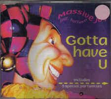 Massive Joy-Gotta Have U cd maxi single