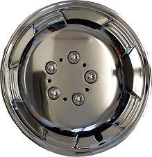 "Cosmos Wheel Trims ABS Lacqured 15"" inch Deep Dish Hub Cap SUPREMO CHROME"