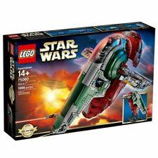 New Lego 75060 Wars Slave I 1 Set with Boba Fett Retired. Unopened Sealed
