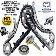 For Nissan Navara D40 2.5 TD YD25DDTi Diesel Timing chain conversion kit duplex