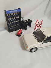 1/18 scale CAR PAINT MIXING SCHEME + EXTRA ACCESSORIES for garage diorama