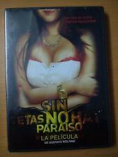SIN TETAS NO HAY PARAISO SIN PECHOS NO HAY PARAISO GUSTAVO BOLIVAR NEW DVD