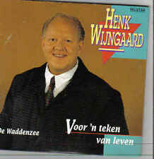 Henk Wijngaard-De Waddenzee cd single