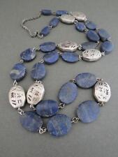Vintage Modernist Lapis Lazuli Necklace