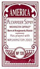 2003-04 Topps C55 Minis American Red #139 Alexander Semin