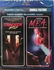 Tragedy Girls / M.F.A. Double Feature Blu-ray NEW SEALED Raven Banner