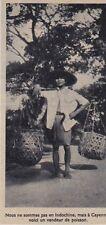 1955  --  VENDEUR ASIATIQUE DE POISSON A CAYENNE   GUYANE   3E027