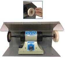 Polishing Motor Machine Lathe W/Splash Benchtop Buffing Dental Jewelry