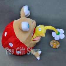 "2pcs Bulborb Chappy & FLOWER  5.5-8.5"" New Pikmin Plush Doll Stuffed Toy"