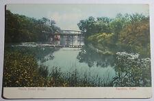 1906 Postcard Harris Street Bridge Tounton Massachusetts