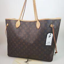 Auth Louis Vuitton Neverfull GM Monogram M40157 Hand Shoulder Bag Genuine LC106