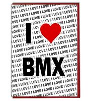 Greeting Card - Birthday Card - I Love BMX