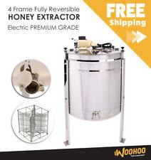 4 Frame Fully Reversible Electric Honey Extractor - PREMIUM GRADE